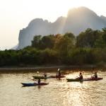 Vang vieng Kayaking