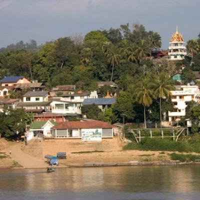 HouayXai maps Laos