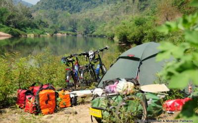 Camping in Laos