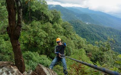 Trekking in Laos