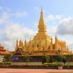 Estupa Pha That Luang Vientiane