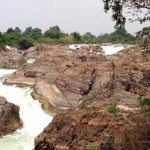Liphi Waterfall in Don Khone Laos
