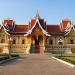 Temples in Vientiane Laos